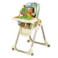 """Детский стульчик для кормления Фишер Прайс Fisher Price """"Джунгли, Тропический лес"""""""