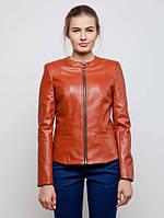 Женская кожаная куртка на замшевой основе р.42-50