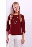 Стильная блуза из габардина  Блузон. Цвета