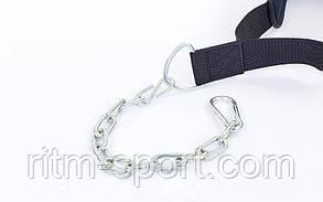 Пояс с цепью для отягощений Dipping Belt Valeo (ширина 17 см, длина 92 см), фото 2