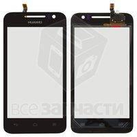 Тачскрин (сенсор) для мобильного телефона Huawei U8825D Ascend G330D, черный