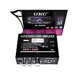 Підсилювач UKC AK-699D MP3 FM 12v 220v New, фото 3