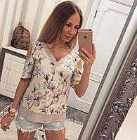 Летняя женская блузка