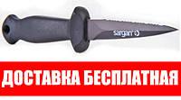 Нож для подводной охоты Sargan Хоббит 87; тефлоновый