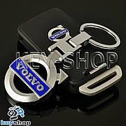 Металлический брелок для авто ключей VOLVO (Вольво)