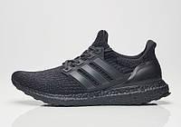 Кроссовки Мужские Adidas Ultra Boost black, Адидас Ультра Буст