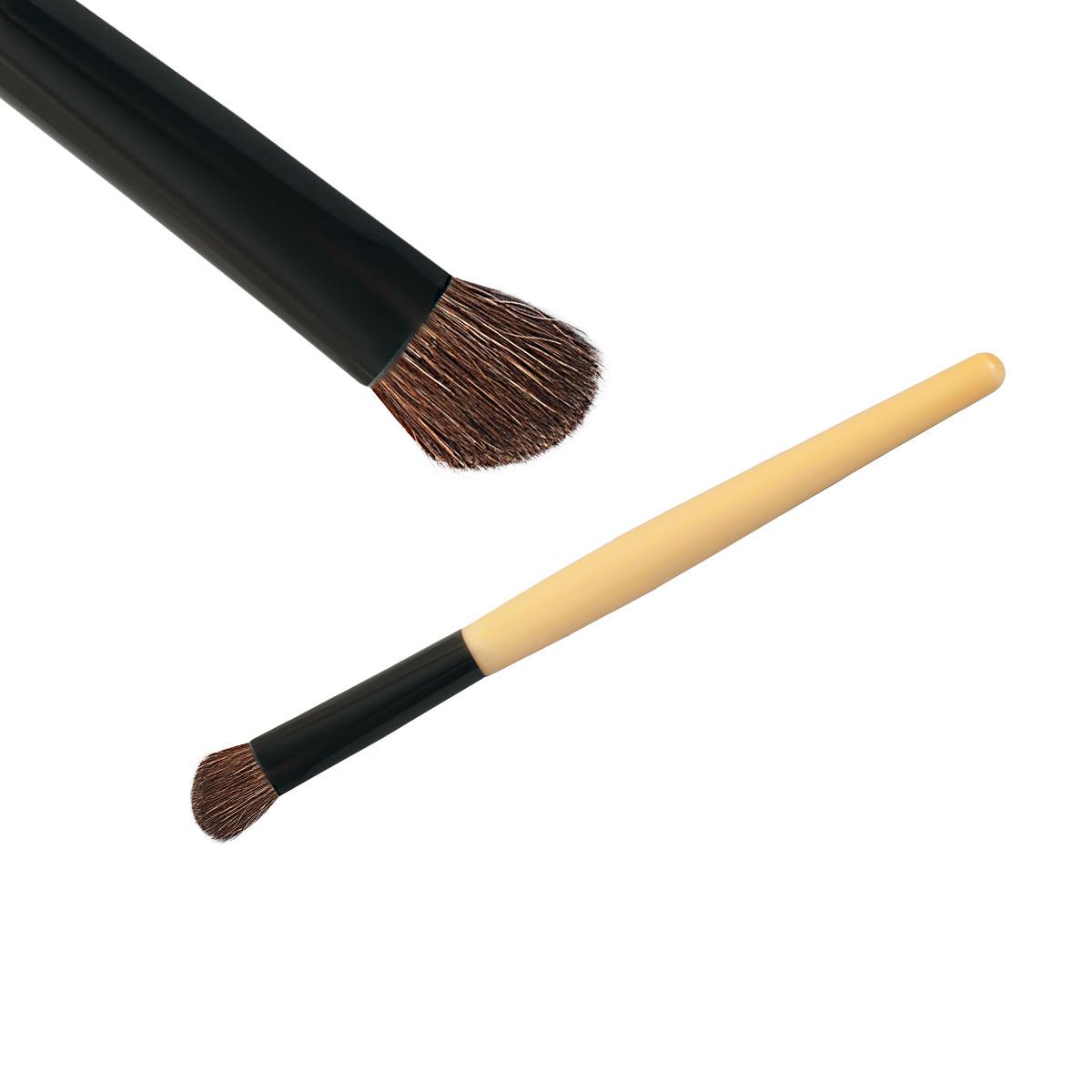 Кисть косая для растушевки теней MK12, 1 шт