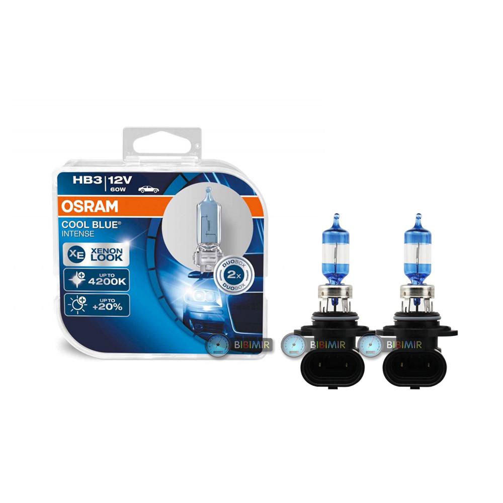 Лампы Osram HB3 Cool Blue Intense SET