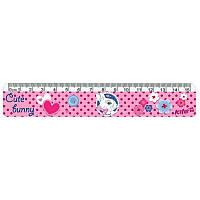 Лінійка пластикова Kite Cute Bunny K17-090-1