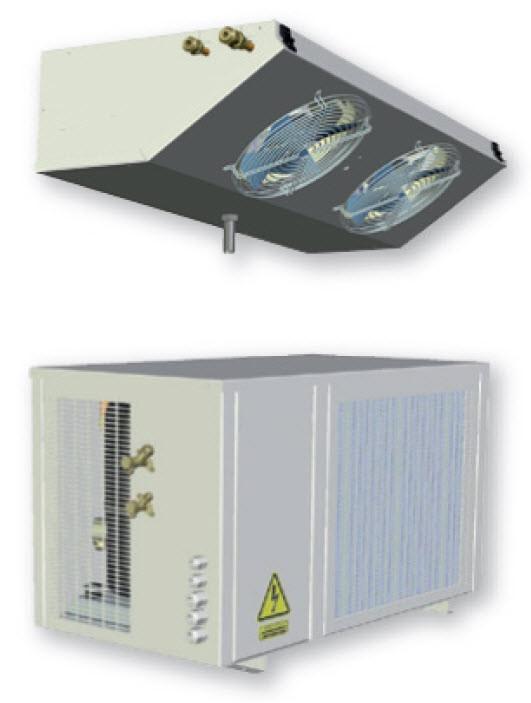 Холодильные агрегаты для холодильных камер Ecofin ( Турция )