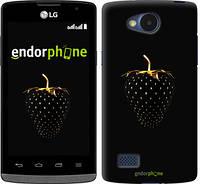 """Чехол на LG G Pro Lite D686 Черная клубника """"3585c-440"""""""