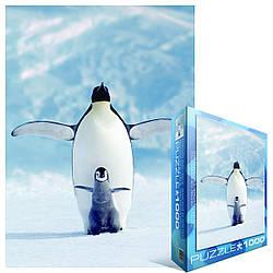 "Пазл Eurographics ""Пінгвін з пінгвіном"" (1000 шт.)"
