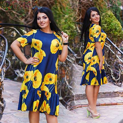 """Платье """"Маки"""", фото 2"""