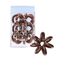 Резинка-браслет для волос Invisibobble Nano Pretzel Brown (коричневый)