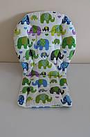 Вкладыш слоны индийские зеленые