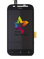 Дисплей для мобильного телефона HTC Desire SV/T326e, черный, с тачскрином