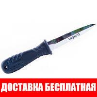 Нож для подводной охоты Sargan Телорез; зеркальный сарган