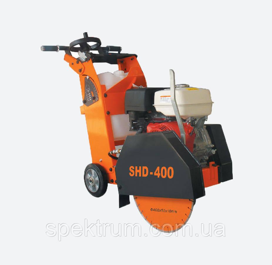 Швонарезчик Spektrum SHD-400 (Honda GX390) бензиновый по бетону, глубина реза 150 mm