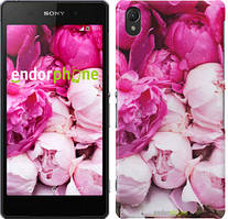 "Чехол на Sony Xperia E5 Розовые пионы ""2747c-458"""