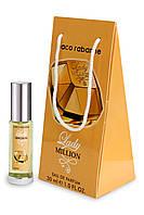 Женский мини-парфюм Paco Rabanne Lady Million  (Пако Рабанн Леди Миллион) ,30 мл в подарочной упаковке