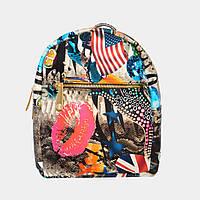 Рюкзак жіночий міський різнокольоровий / Рюкзак женский городской разноцветный