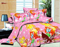 Комплект постельного белья WINX-1 (Винкс) ТМ TAG 1,5 спальный комплект