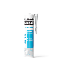 Санитарный силиконовый герметик Ceresit CS 15  280 мл