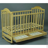 Детская Кровать Laska-M Наполеон с ящиком (натуральная ольха)