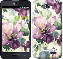 """Чохол на LG K5 X220 Квіти аквареллю """"2237c-457"""""""