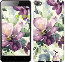 """Чохол на Meizu U10 Квіти аквареллю """"2237u-415"""""""