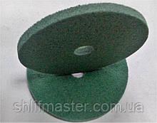 Полировальный круг на пенистой основе 150х10х22 Р240 зеленый