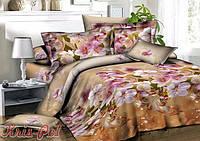 Комплект постельного белья полуторный 150х220, (4023) Ранфорс
