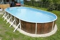 Бассейны сборные каркасные Azuro, Ibiza Mountfield - стационарный бассейн по цене каркасного