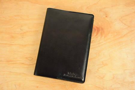 Обложка для блокнота формата А5 |10556| Италия | Темный кофе