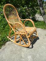 Кресло качалка плетеное из лозы КК-6