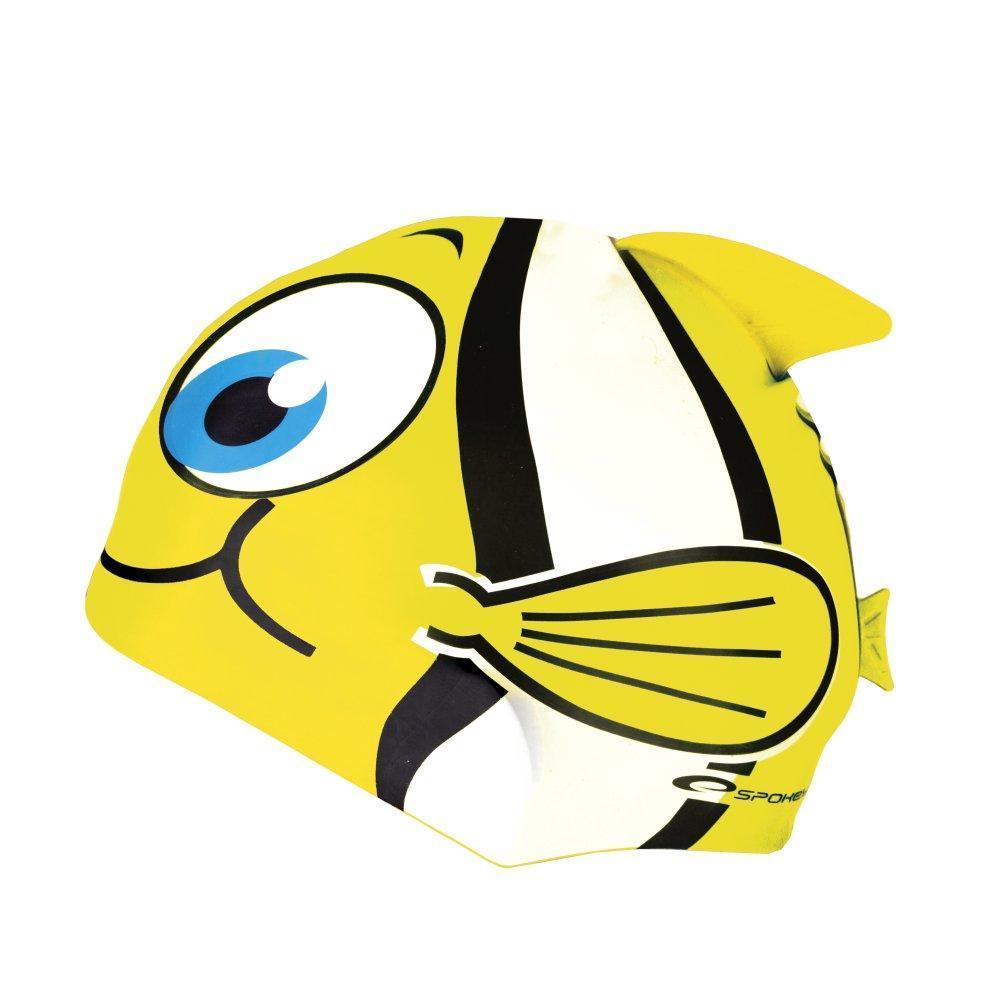 Шапочка для плавания детская Spokey Rybka 82276 (original) для бассейна, силикон