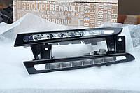 LED огни ДХО Renault Megane 3 от 2012 года