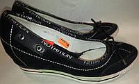 Туфли женские натуральный замш р36 MIRATTI d5 черные KARO