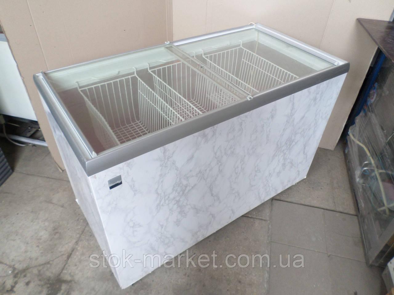 Ларь морозильный Derby DK 9620 380 л. б/у, ларь купить бу, купить ларь б/у