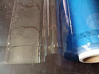 Прозрачная плёнка ПВХ рулон и на отрез