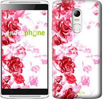 """Чохол на Lenovo K6 Намальовані троянди """"724c-452"""""""