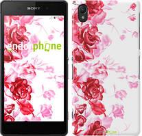 """Чехол на Sony Xperia E5 Нарисованные розы """"724c-458"""""""