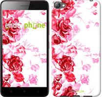 """Чохол на Meizu U10 Намальовані троянди """"724u-415"""""""