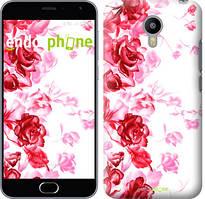 """Чохол на Meizu M3 Max Намальовані троянди """"724u-462"""""""