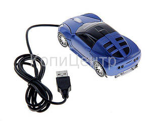 Компьютерная мышь проводная USB 2081 Машинка, фото 2