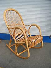Кресло качалка плетеное из лозы КК-5