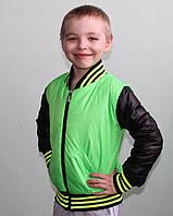 Детские  куртки весна осень