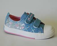 Детские джинсовые кеды для девочки, LIBANQ.М.Мичи lt.blue, 28-35