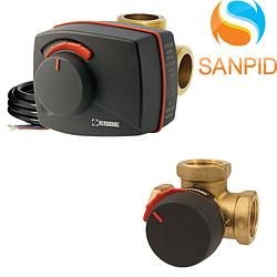 Комплект трехходовой клапан ESBE VRG 131 1 1/4 + электропривод ARA661 120s-90