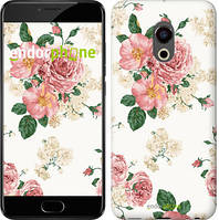 "Чохол на Meizu Pro 6 Plus квіткові шпалери v1 ""2293u-678"""